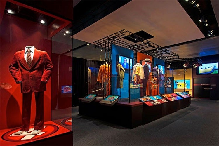 The Newseum's Anchorman Exhibit is Kind of a Big Deal