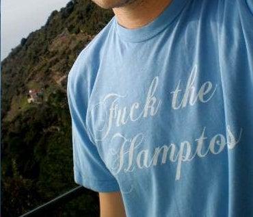 Hamptons People Wear T-Shirts
