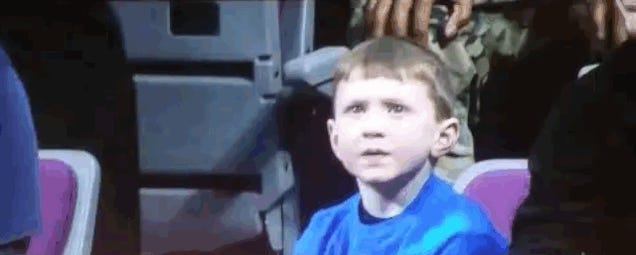 Disappointed Knicks Kid Is Just So Disappointed