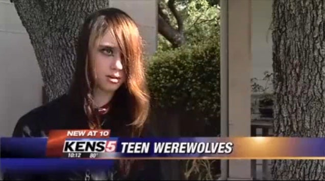 Teens pretending to be werewolves are the new teens pretending to be vampires