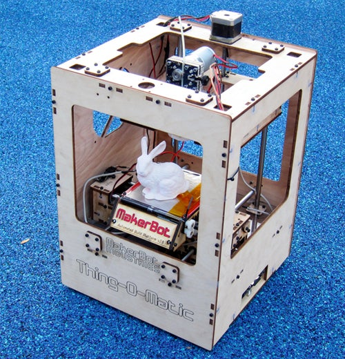 Personal 3D Printing Sweatshop Costs Just $1,225 for MakerBot's Thing-O-Matic
