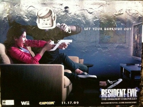 Resident Evil, Defaced With Lego