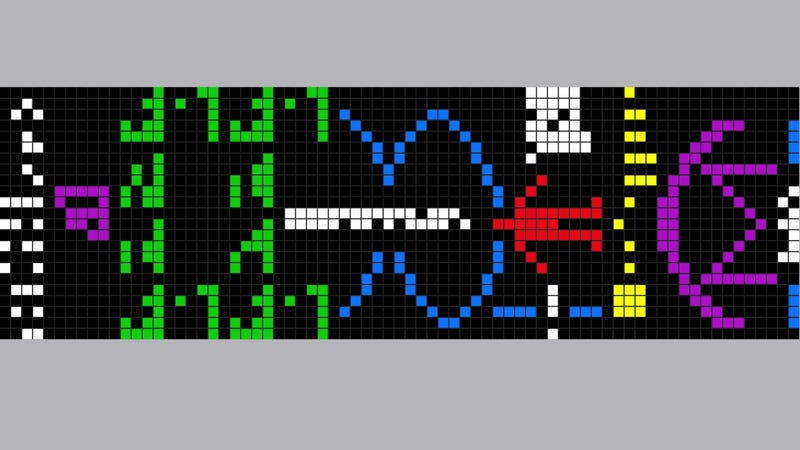 This is the binary message we sent out to aliens 38 years ago
