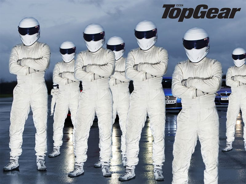Daily Mail: Top Gear Has Eight Stigs