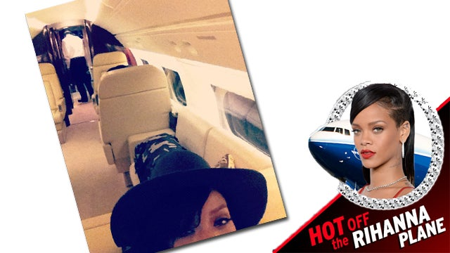With Rihanna Plane Ordeal Over, Normalcy Returns to Rihanna's 'Big Ole Jet'