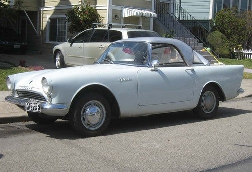 1962 Sunbeam Alpine Down On The Alameda Street
