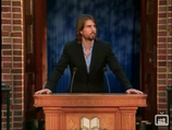 Long-Haired, Freak-Eyed Tom Cruise Preaching 'Study Technology'