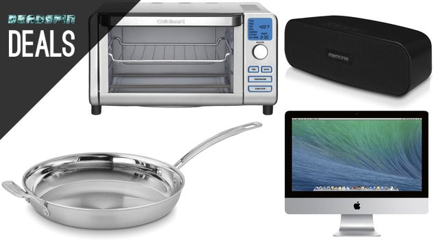 Deals: Tri-Clad Skillets, iMac from $830, Cuisinart Toaster Oven