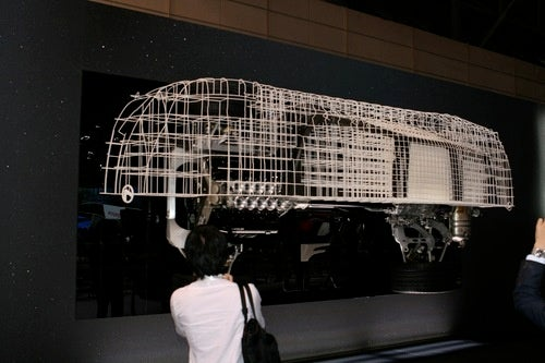 Lexus LFA: Wireframe Photos