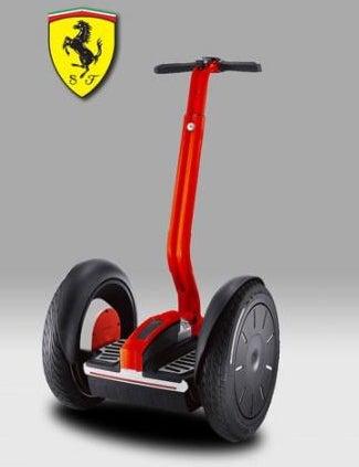 Prancing Geeks: Limited-Edition Ferrari Segway