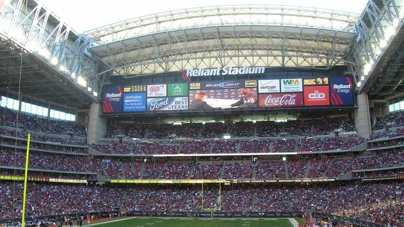 The Texans Will Build The NFL's Two Largest Video Screens
