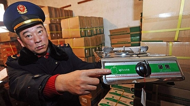 These Ridiculous iPhone-Branded Stoves Were Seized in China