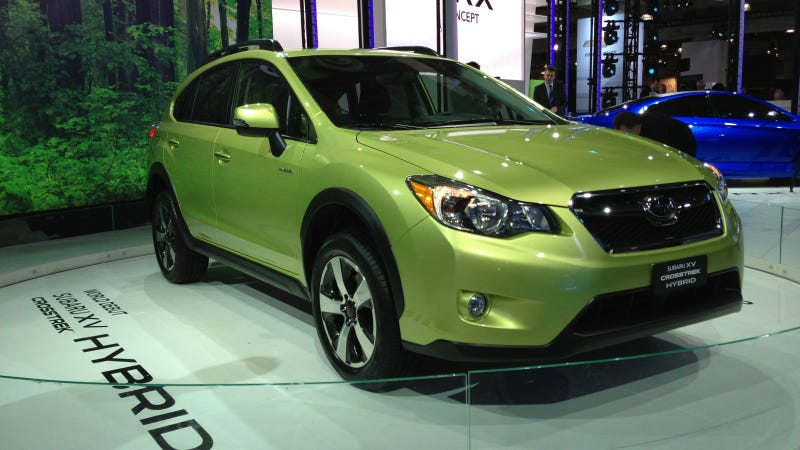 The Subaru XV Crosstrek Hybrid Is The Other Car Subaru Showed Off Today