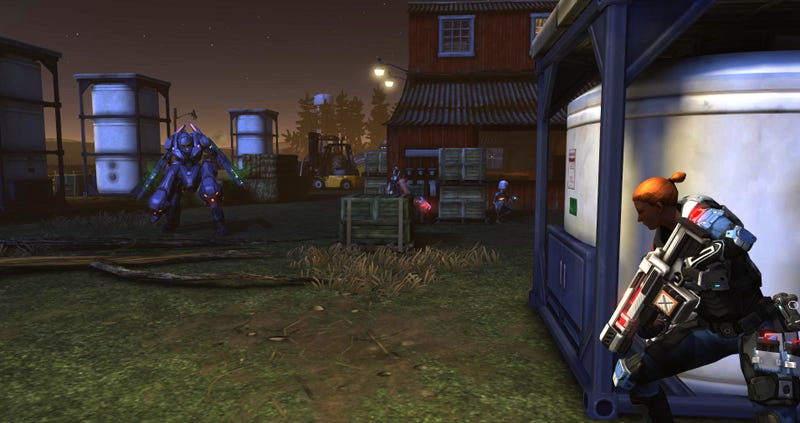 Sounds Like Aliens Will Invade Your Base in XCOM: Enemy Within