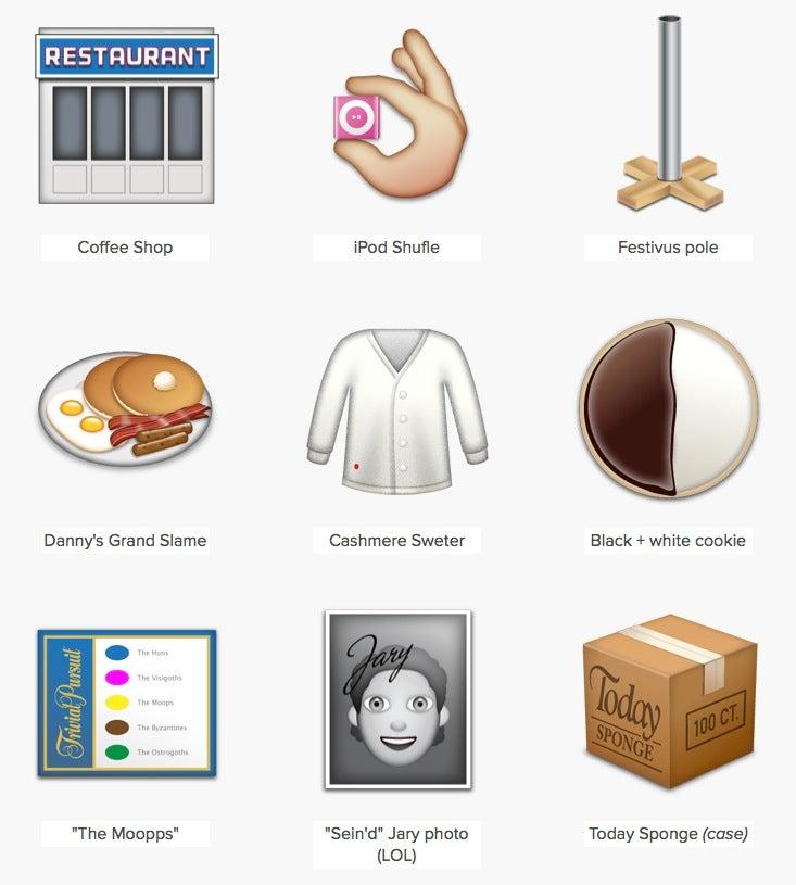How the Best Seinfeld Parody on the Internet Created Seinfeld Emoji