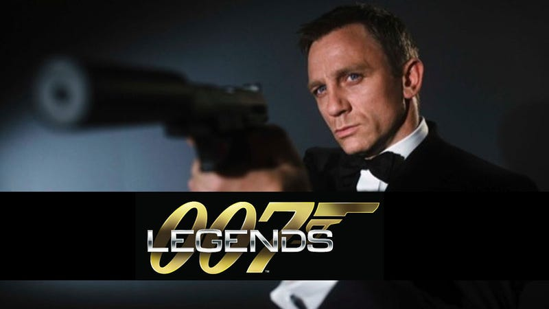 Six Bond Films Merge to Form 007 Legends