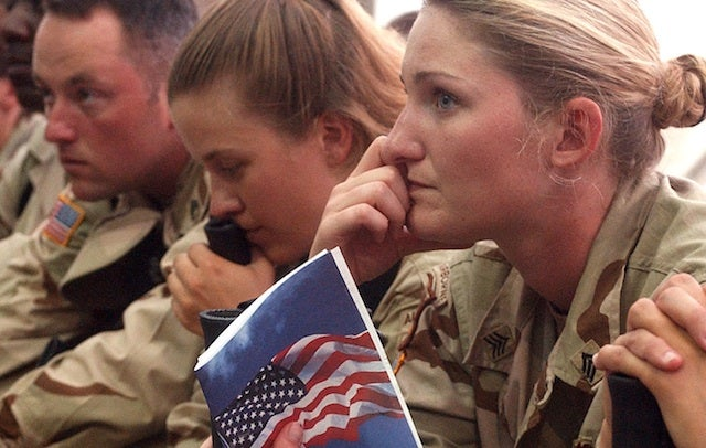 Women's Post-Combat Stress Similar To Men