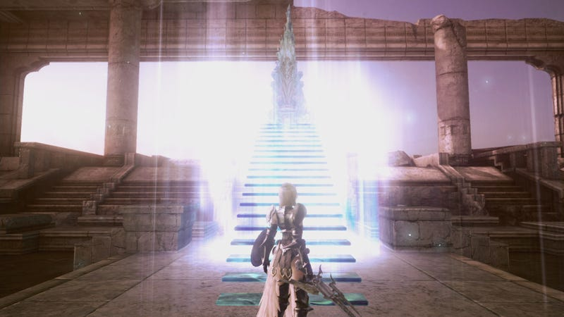 Snow and Lightning Star in Final Final Fantasy XIII-2 DLC