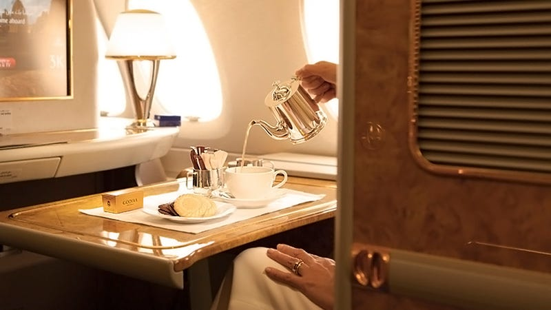 What's The Most Extravagant Airline Perk?