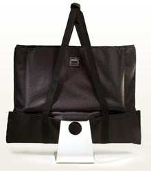 iMac Thinks It's a Laptop Inside Reinda Leather Transport Bag