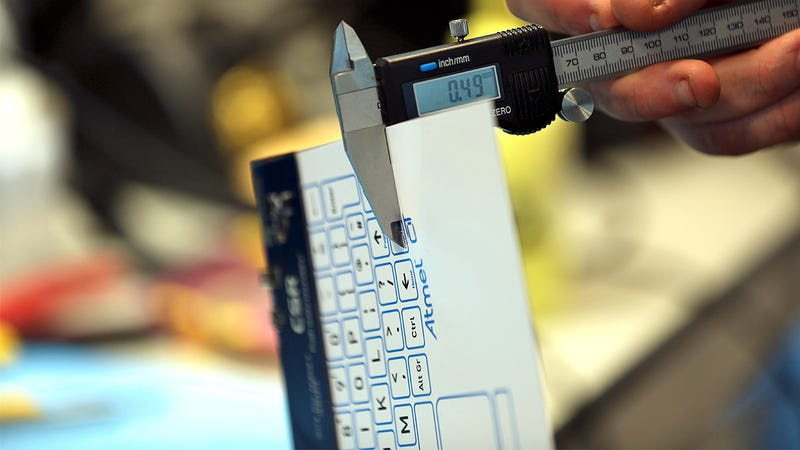 The World's Thinnest Keyboard Is Just Half a Millimeter Thick