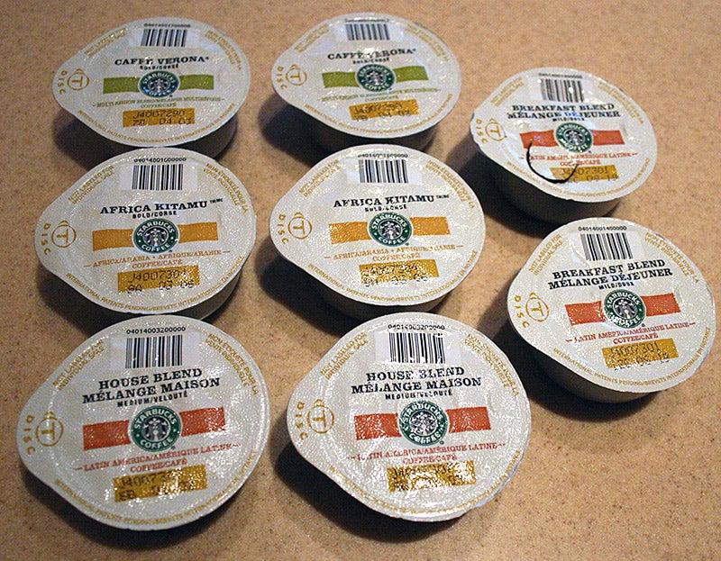 Taste Test: Starbucks Coffee in Tassimo Single-Serve Pods
