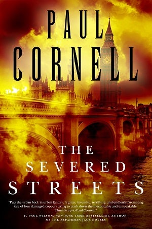 Read The First 2 Chapters Of Paul Cornell's Severed Streets Right Here