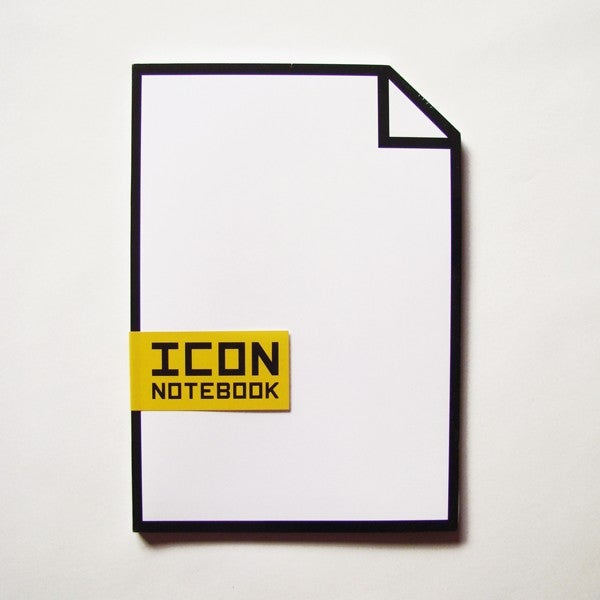 Computer Icon Notebook Lets Me Jot My Notes Down