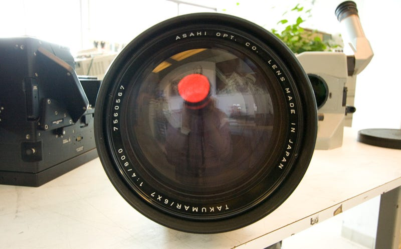 The Biggest Lens Cap I'd Ever Seen Reveals an Exciting Secret