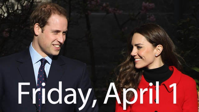 Prince William Admits He's Got The Pre-Wedding Jitters