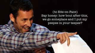 These Are the Jokes That Caused Actors To Walk Off Adam Sandler