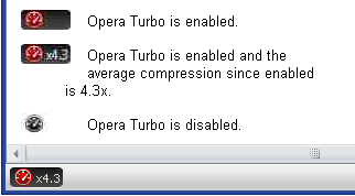 OperaTurbo Boosts Performance on Slower Connections