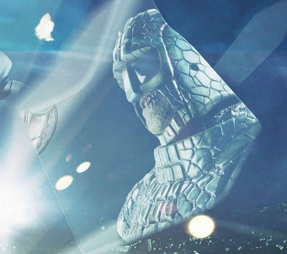 Here's the first pics of Doctor Who's new-and-improved Ice Warriors