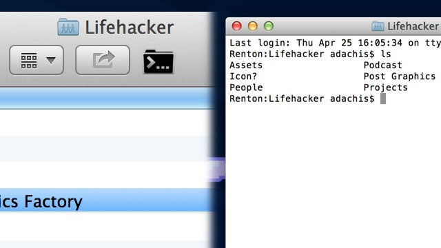 Cdto Opens Any Folder in the OS X Terminal with One Click