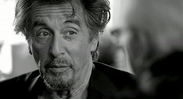 Al Pacino's First Endorsement Deal Brands Him as a Caffeine Junkie, Slob