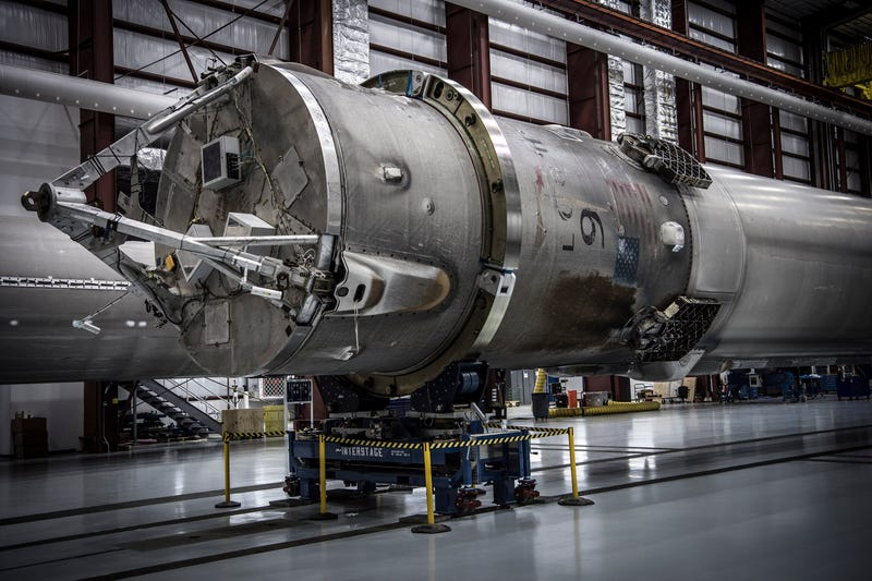 Yep, SpaceX Is Running Out of Room For Its Landed Rockets