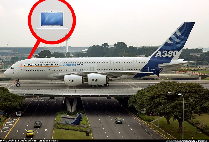 Just How Big is an Airbus A380?