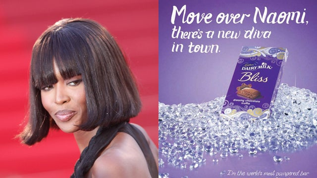 Naomi Campbell Declares Chocolate Ad Racist, Threatens To Sue