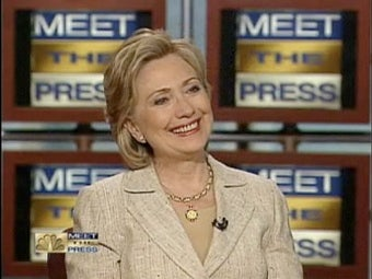 """Hillary Clinton: """"It Will Take The Right Woman"""" To Win The Presidency"""