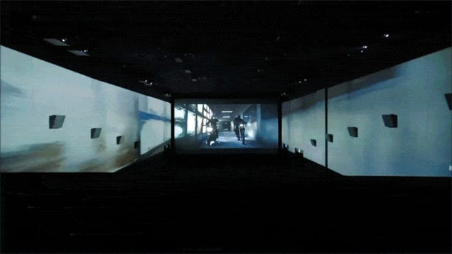 Imagine Playing Video Games on This 270-Degree Movie Screen