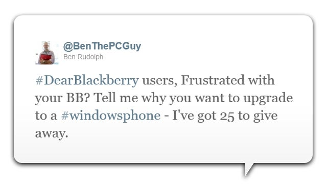 Microsoft's Tempting BlackBerry And iOS Users With Free Windows Phone Handsets