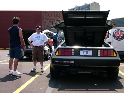 Crazy Euro Car Boy Meets DeLorean for First Time