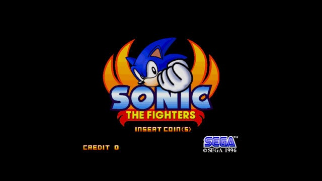 Um, Sega Once Made a Sonic Fighting Game