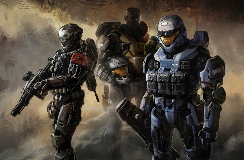 Halo Reach's Spartan Voice Isn't Too Chatty