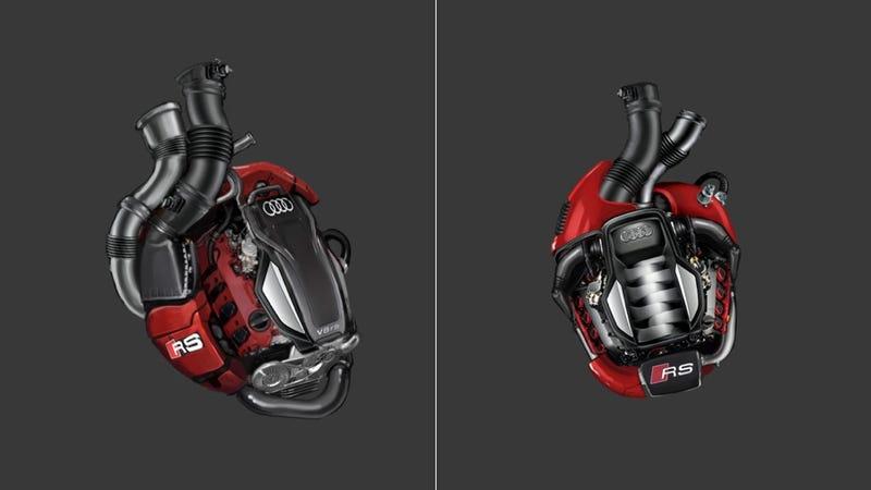 Nothing Says Love Like A V8 Engine Shaped Like A Heart