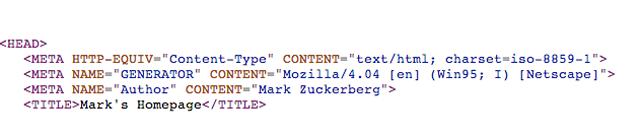 Holy Crap, Is This Mark Zuckerberg's Embarrassing Childhood Angelfire Website?