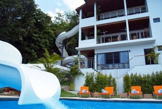 House With Indoor Pool With Slide Houses Have Indoor Slides