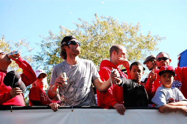 Dispatches From The Phillies Victory Parade