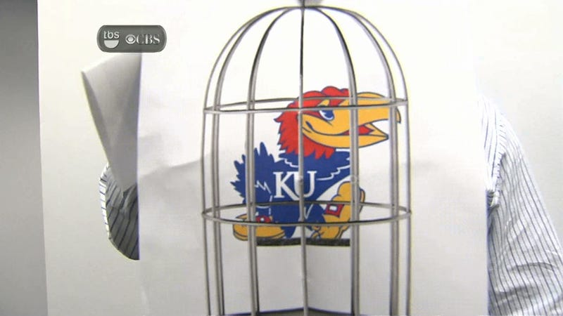 This Is Not How You Cage A Jayhawk