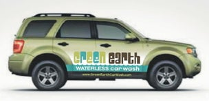 Couple Bringing LA to the Water...less Carwash